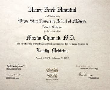 Family Medicine Residency Wayne State University