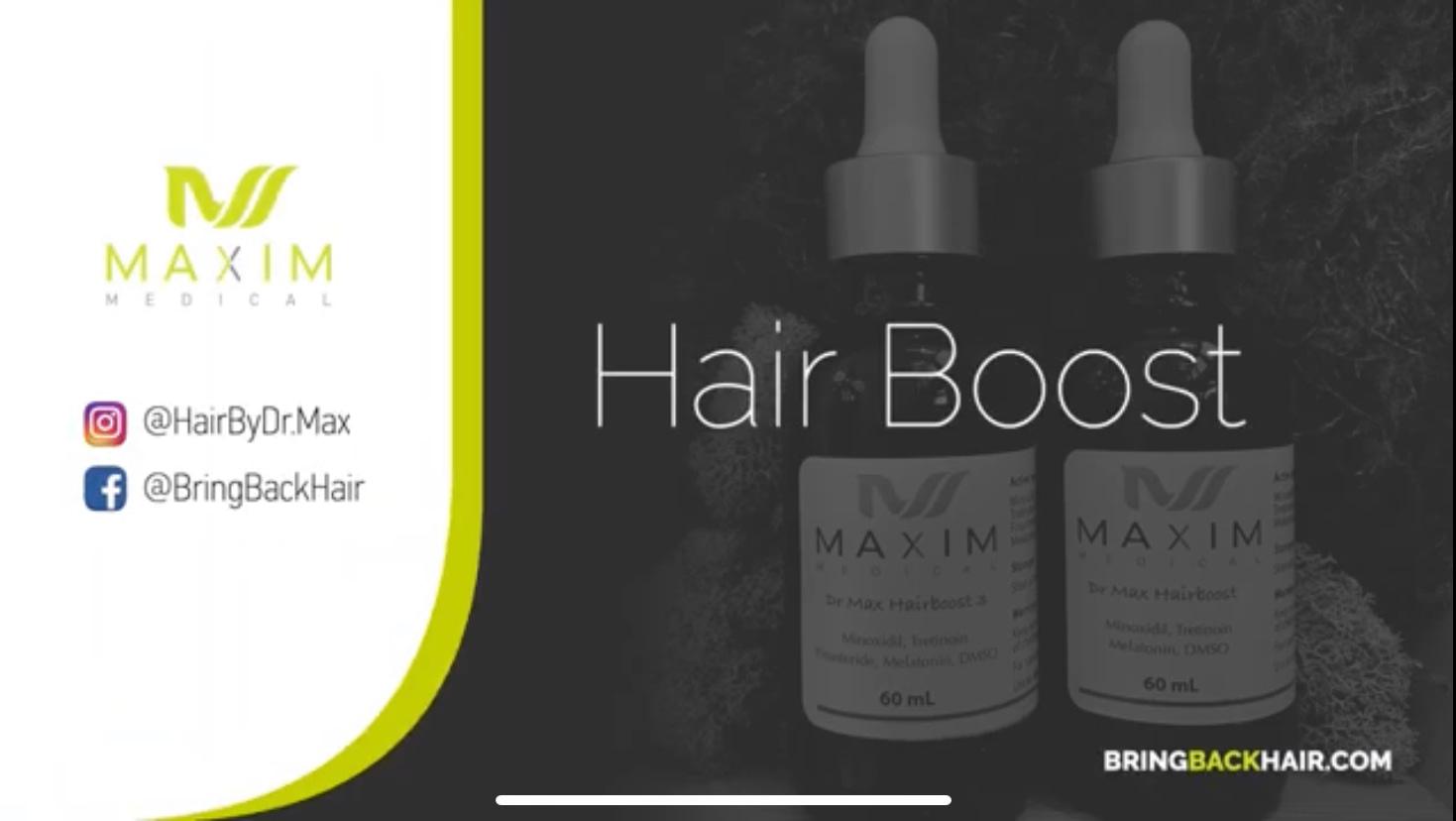 dr. max's hair boost